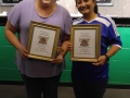 Leslie & Nelia - 1st Place - Ladies Doubles